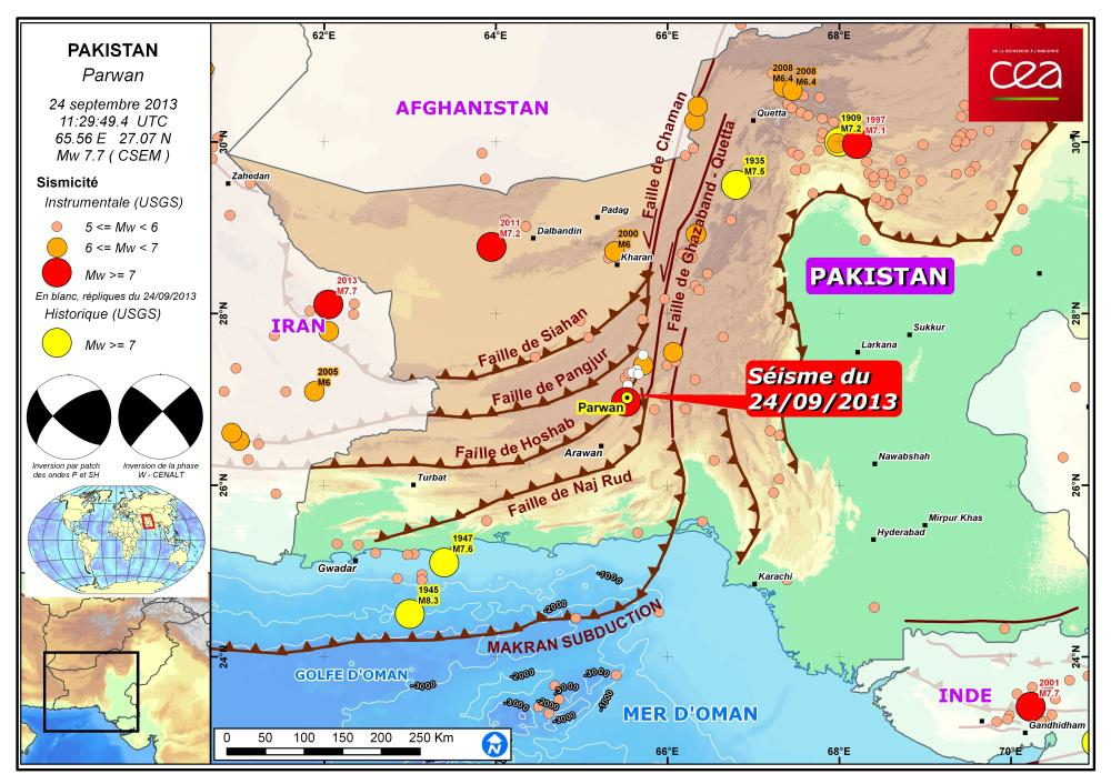 Cea dam figure 1 map showing location of the earthquake of 24 september 2013 major faults of the region and seismicity 1973 2013 focal mechanisms calculated at gumiabroncs Choice Image